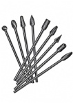 Long Shank Carbide Burs